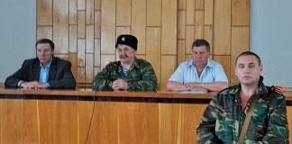 Козицин с мэром Дебальцево