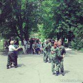 Дебальцево, боевики в ЦГБ