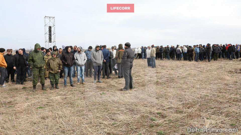 Мобилизация боевиков ДНР