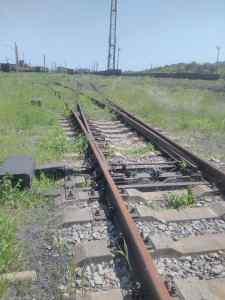 Железная дорога оккупированного Дебальцево