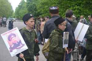 Бессмертный полк террористов в Дебальцево