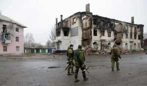 Углегорск после захвата оккупантами