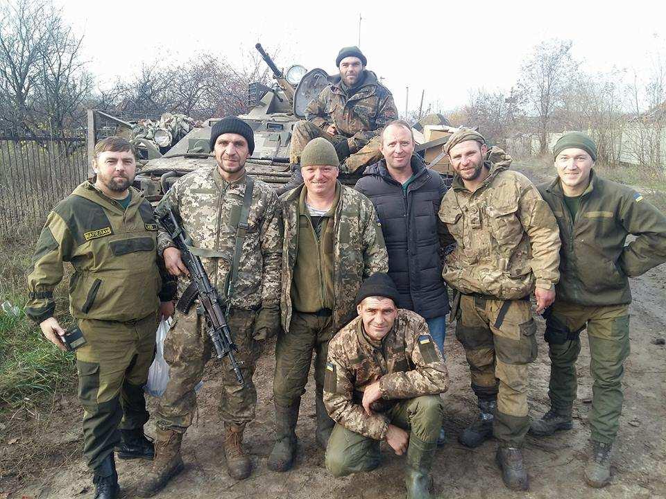Олексій Сосюра на Донбасі