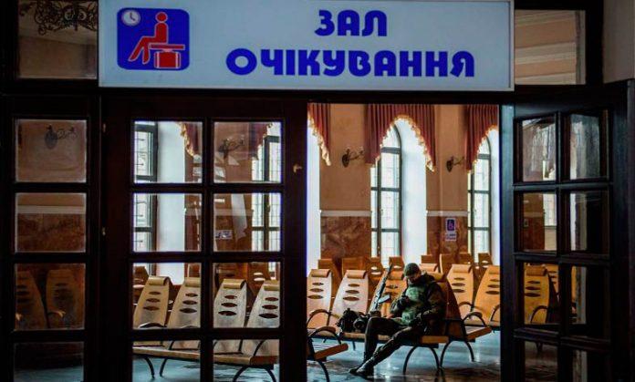 Вокзал Дебальцево