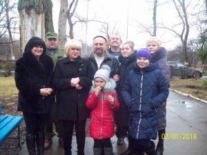 Руслан Зубцов с семьей