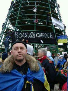 Вадим Бабенко на Майдане