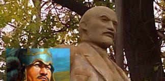 Памятник азиату
