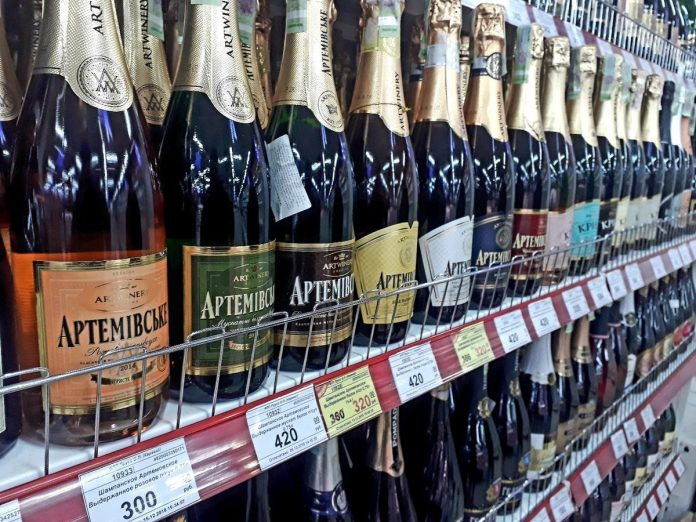 Шампанское в ДНР