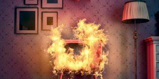 Сгорела техника