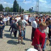 Митинг железнодорожников ДНР 3