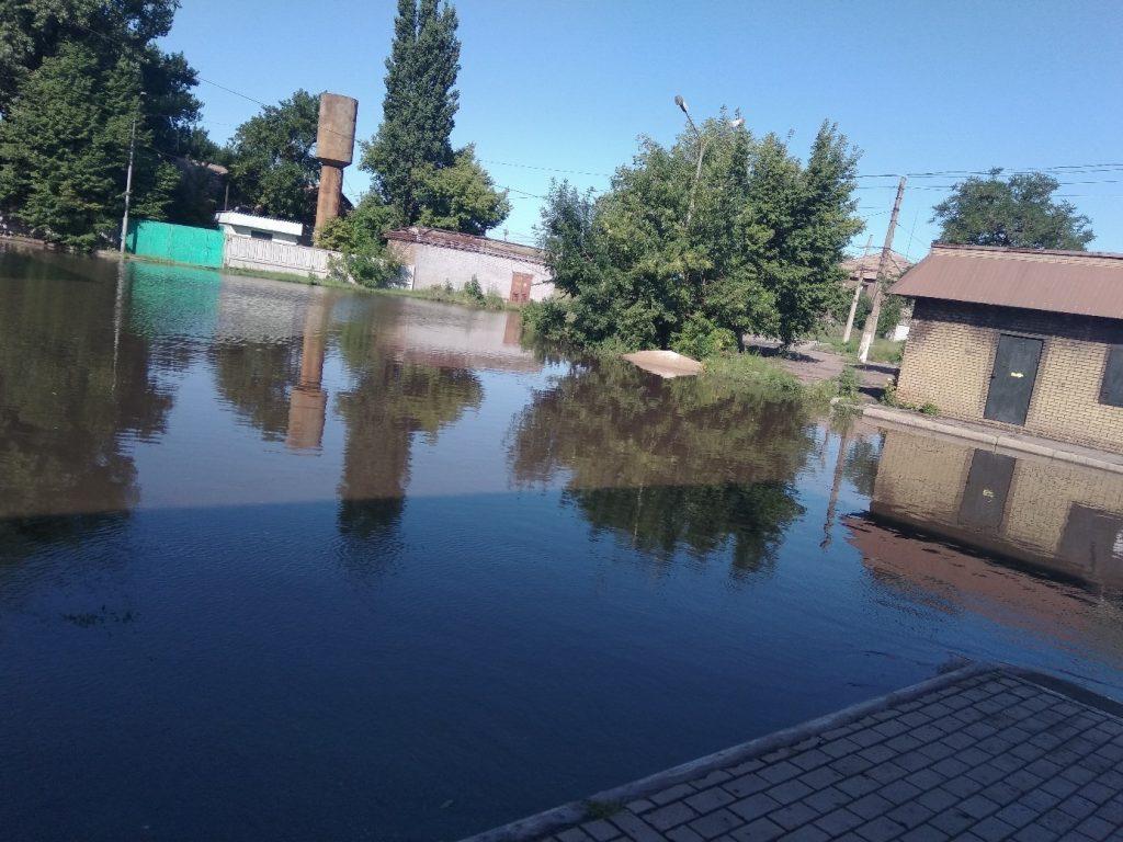 потоп в Алчевске