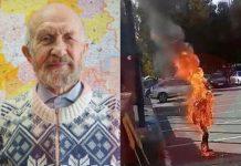 Поджог себя в Ижевске