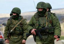 Военный РФ на Донбассе
