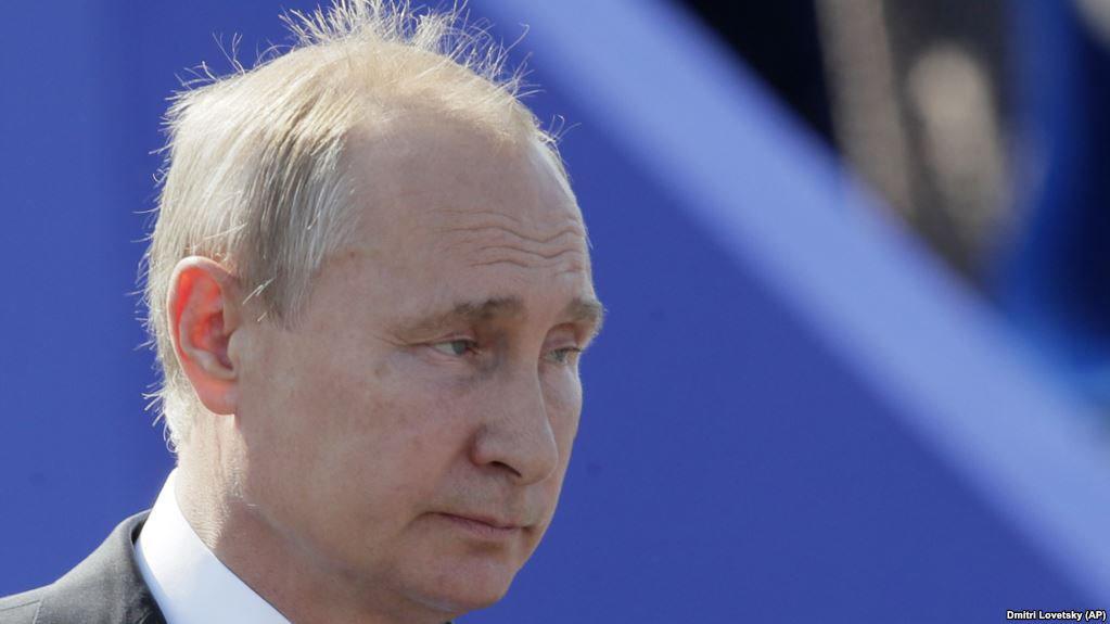 Путин старик