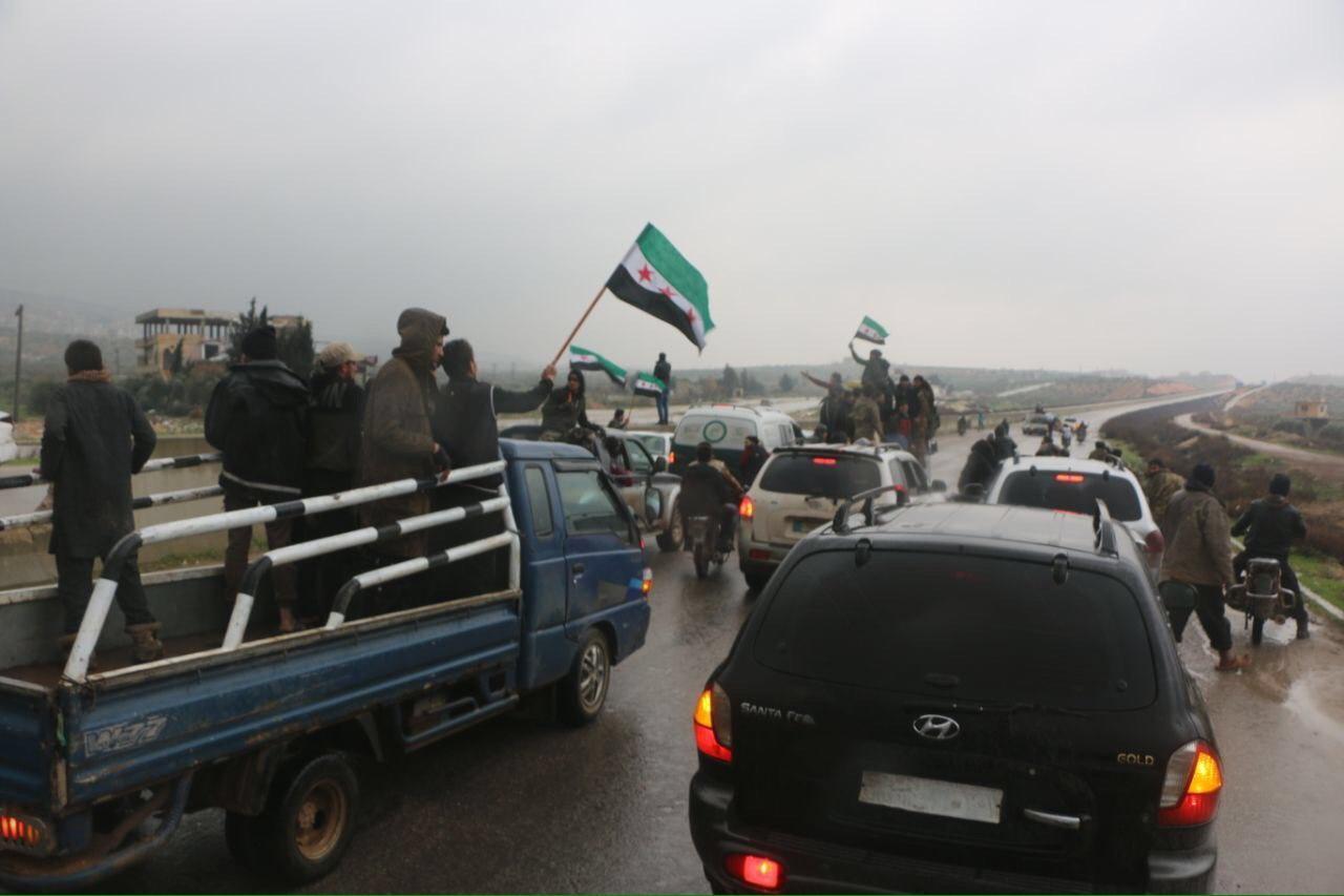Протест сирийцев