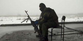 Российский боевик на Донбассе
