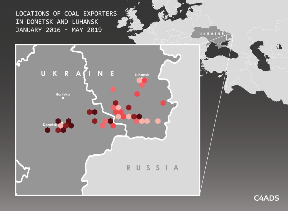 Експорт вугілля