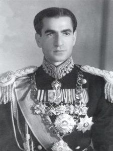 На фото: Мохамед Реза Пехлеви, шах Ирана 1943г.