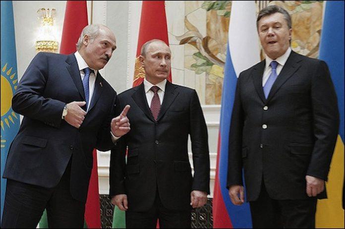 Путин, Лукашенко, Янукович