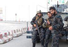 Муджахиды Талибана в Кабуле
